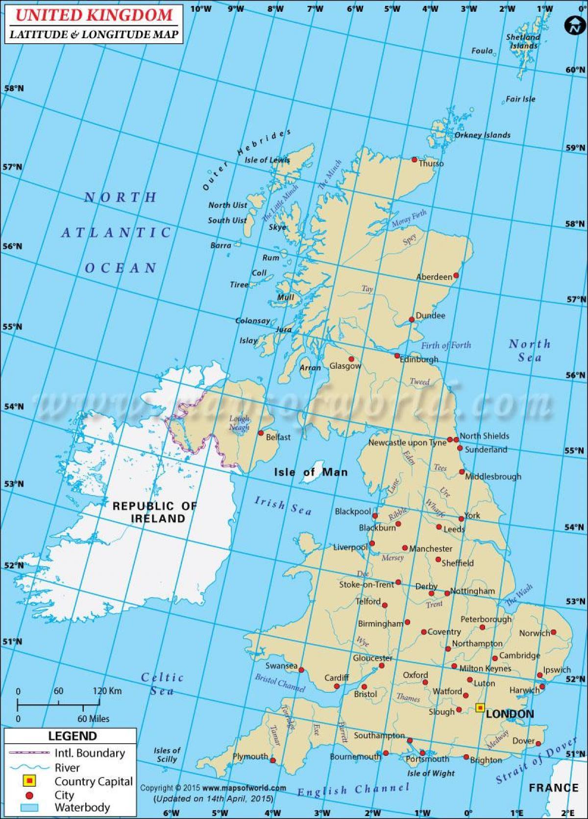 Kartta Koordinaatit Uk Pyora Karttoja Uk Pohjois Eurooppa